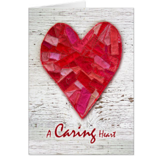 Thank You to Hospice Nurse, Quilted Heart Card