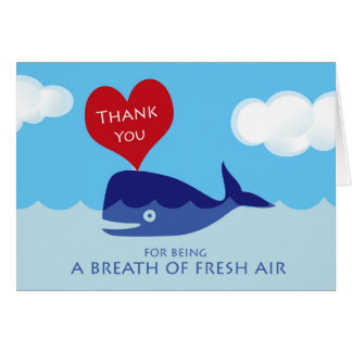 Thank You to Respiratory Therapist, Fresh Air Card