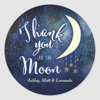 Thank You to the Moon Sticker