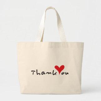 Thank You Jumbo Tote Bag