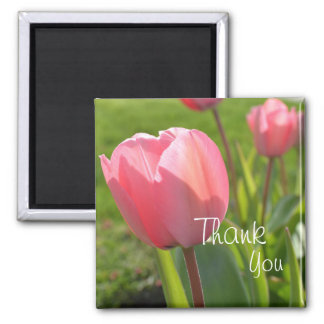 Thank you tulip magnet