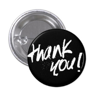 Thank you typography badge