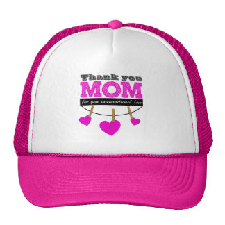 Thank you unconditional for Mom you love Cap