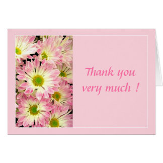 Thank you very much ! - Card