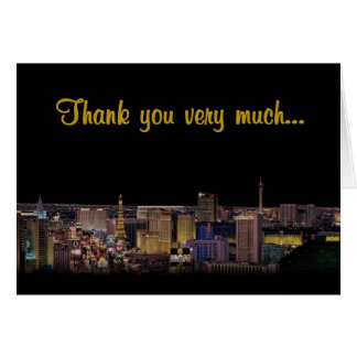 Thank you very much Las Vegas Cards