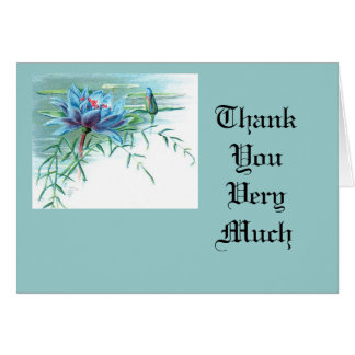 Thank You Very Much Note Card