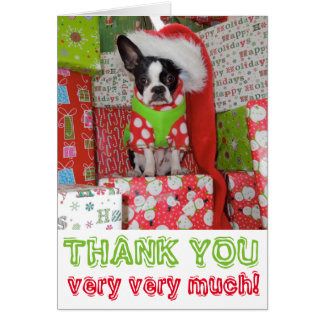 Thank You Very Very Much Elf - Lola B. Boston Greeting Cards