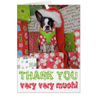 Thank You Very Very Much Elf - Lola B. Boston Note Card