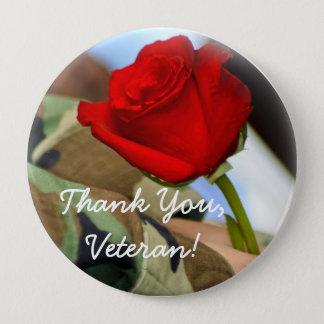 Thank You Veteran Button