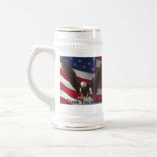 Thank You Veterans Beer Steins