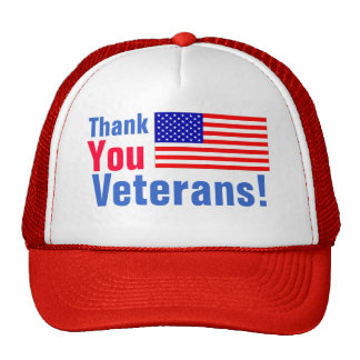 Thank You Veterans! Hat