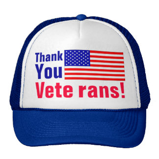 Thank You Veterans! Hats