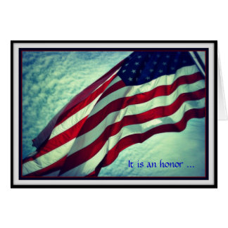 Thank You Veterans Day Card