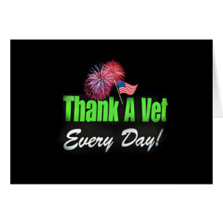 Thank you Veterans Greeting Card