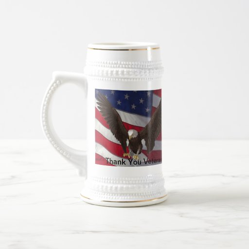 Thank You Veterans Mugs