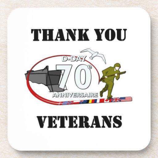 Thank you veterans - Thank you veterans Coaster
