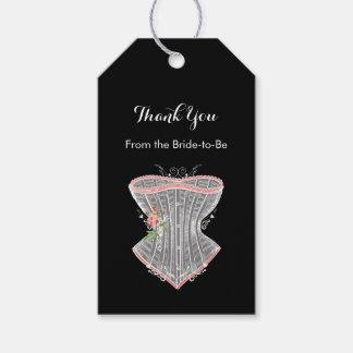 Thank You Vintage Corset Personal Bridal Shower