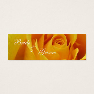 Thank You Wedding Gift Tag Business Card