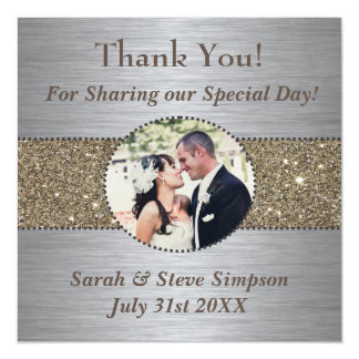 Thank You Wedding Magnets Magnetic Invitations