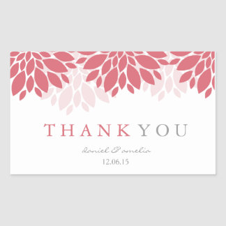 Thank You Wedding Stickers | Wedding