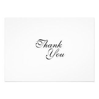 Thank you wedding template invitations