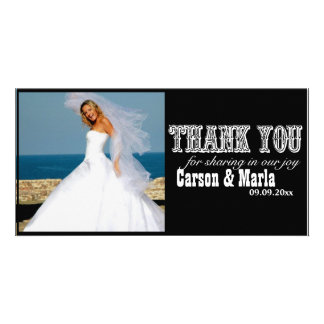 """""""Thank You"""" Western Style (Special Occasion) Picture Card"""