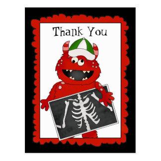 Thank You X-ray Tech postcard