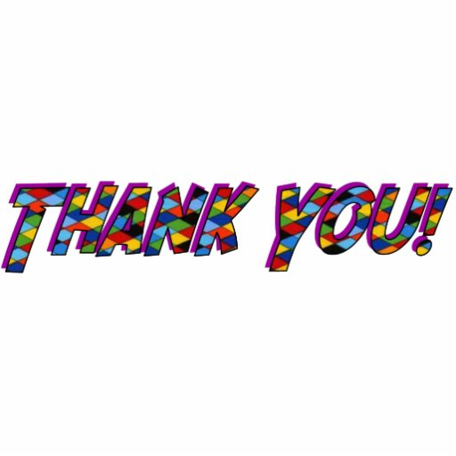 Thank YouOrnament Photo Sculptures