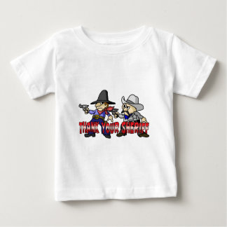 Thank Your Sheriff Baby T-Shirt