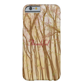 Thankful Barely There iPhone 6 Case