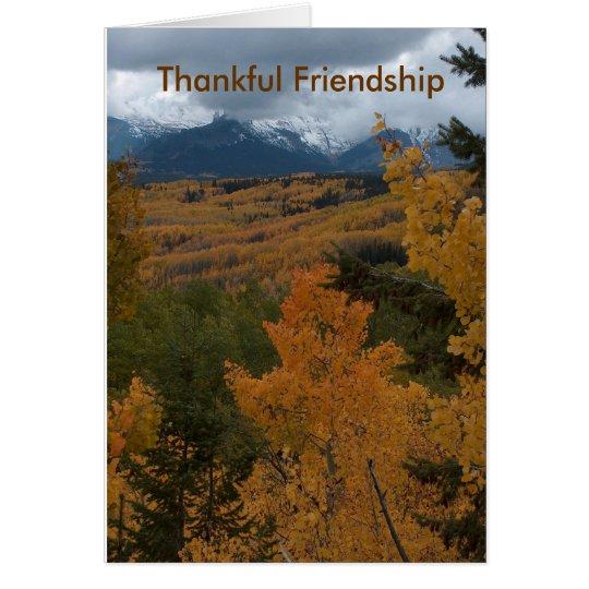 Thankful Friendship Card