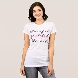 Thankful, Grateful, Blessed T-Shirt