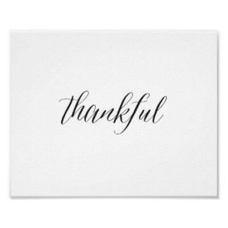 Thankful - Poster