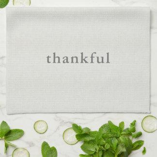 Thankful Tea Towel