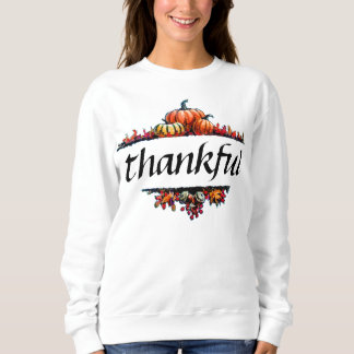 Thankful Thanksgiving Holiday Harvest Shirt