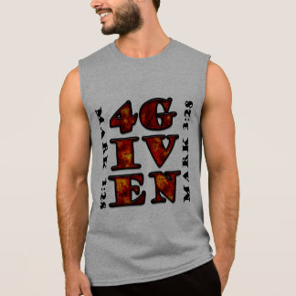Thankfully our Loving God Forgives! Sleeveless Shirt
