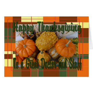 Thankgiving Card For Doctor And Staff