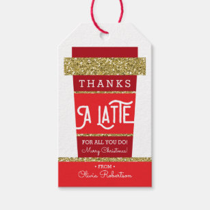 photograph about Thanks a Latte Christmas Printable identify Thank On your own Instructor Present Tags Present Enclosures .au