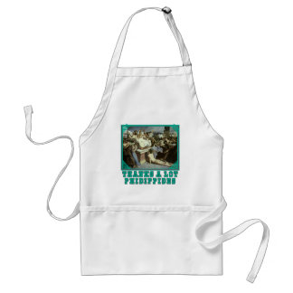Thanks A Lot Phidippides Funny Marathon Tees Aprons