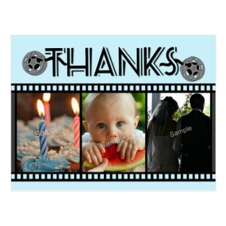 Thanks Any Occasion Film Reel Photo Postcard