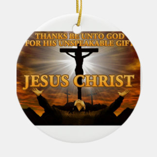 Thanks Be to God Christmas Tree Ornament
