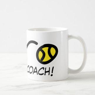 Thanks Coach! Tennis mug