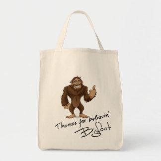Thanks For Believin' Bigfoot Autograph