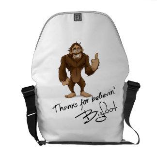 Thanks For Believin' Bigfoot Autograph Messenger Bag