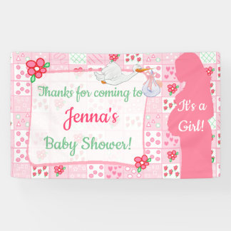Thanks for Coming Baby Shower Banner