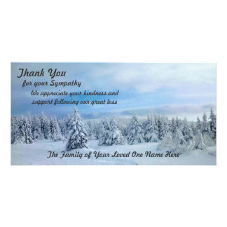 Thanks for Expressions of Sympathy Card
