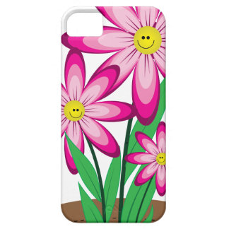 Thanks For Helping Me Grow - Happy Flower iPhone 5 Cover