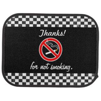Thanks for not Smoking car mats Car Mat