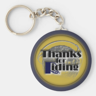 Thanks for Riding Keychain