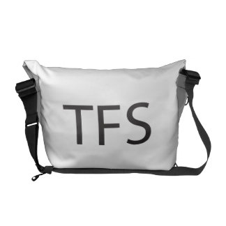 Thanks For Sharing -or- Three Finger Salute ai Messenger Bags
